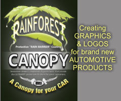 Creating GRAPHICS & LOGOS for brand new AUTOMOTIVE PRODUCTS